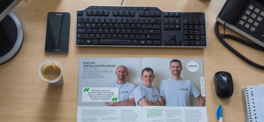 Steutel in O tech magazine