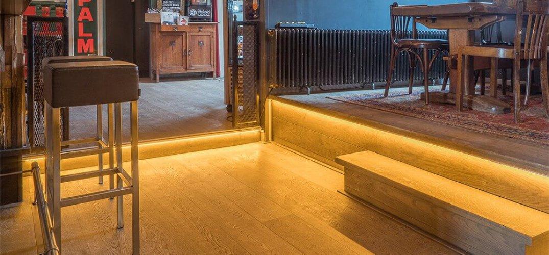 LED verlichting Café de Biet