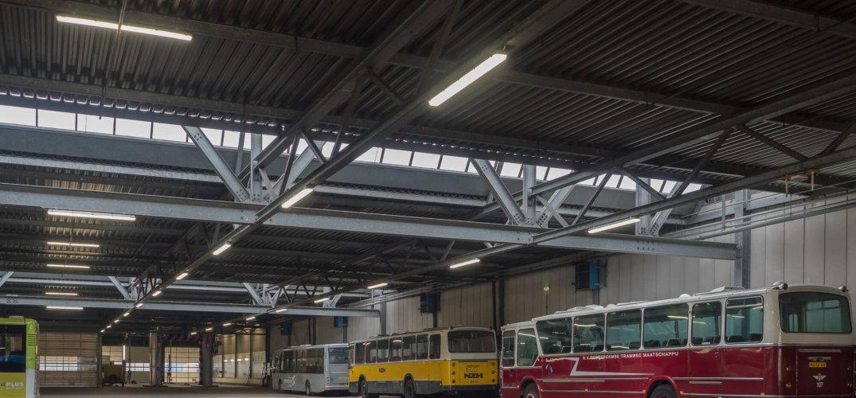 Verlichting Connexxion in Heinenoord - Steutel Installatietechniek