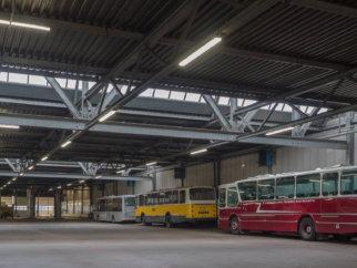 Verlichting Connexxion in Heinenoord