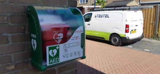 AED geïnstalleerd in Volkerakstraat Zierikzee
